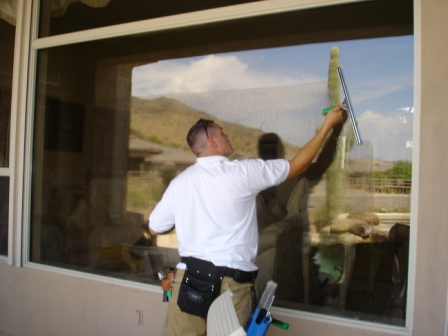Chandler, AZ window cleaning, Chandler Arizona window cleaning